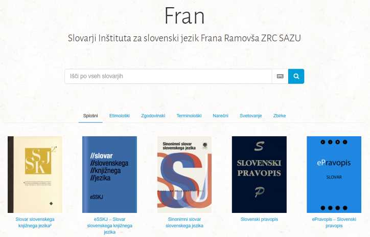 Fran/iskanje